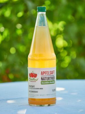 Apfelsaft Etikett
